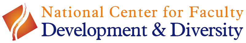 National Center for Faculty Development & Diversity (Logo)